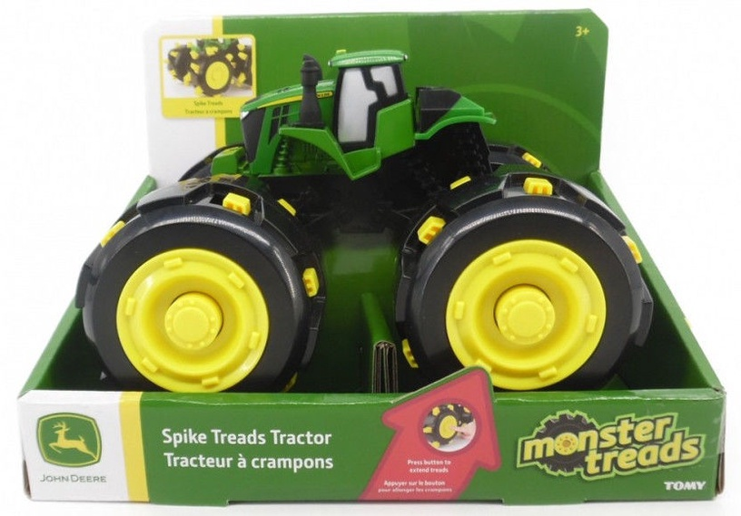 Tomy John Deere Spike Treads Tractor 46712