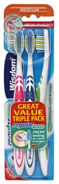 Wisdom Regular Fresh Toothbrush Triple Pack