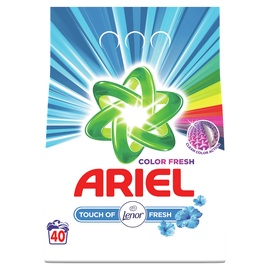 Skalbimo milteliai Ariel Touch of Lenor, 3 kg