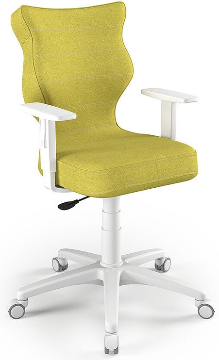 Entelo Office Chair Duo White/Olive Size 6 DC19