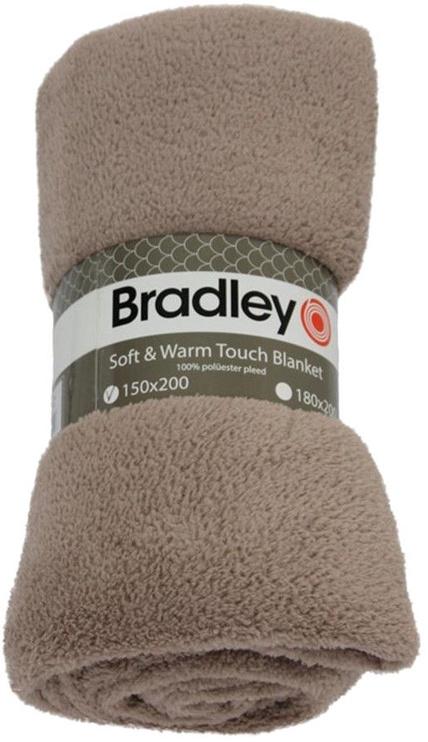 Bradley Plaid Fleece 150x200cm Beige