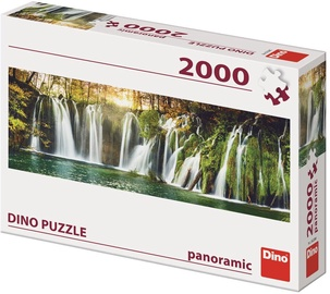 Dino Puzzle Panoramic Plitvice Waterfalls 2000pcs