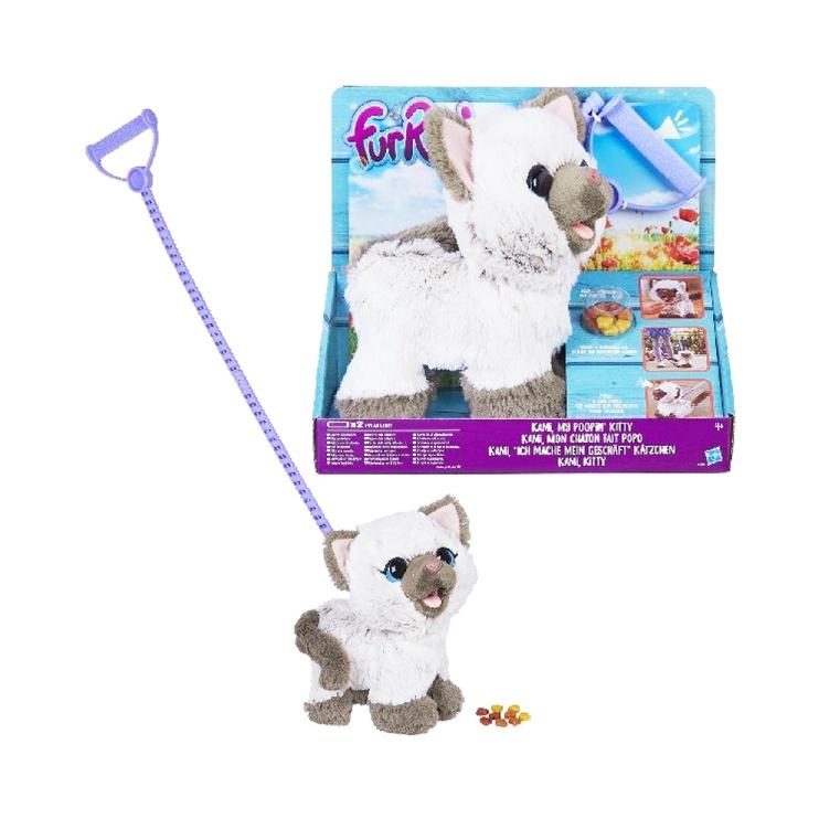 Žaislinis kačiukas FurReal My Poopin Kitty C1156, 4 m
