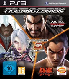 Fighting Edition: Tekken 6, Tekken Tag Tournament 2, Soul Calibur V PS3