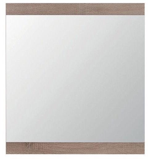 Peegel Black Red White Homeline Dark Sonoma Oak, riputatav, 56x76 cm