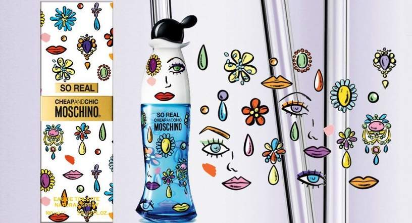 Tualettvesi Moschino So Real Cheap & Chic 100ml EDT