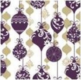 Paw Decor Collection Sparkle Ornament Napkins 33x33cm