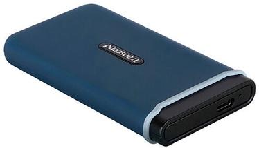 Жесткий диск Transcend ESD370C, SSD, 500 GB, синий