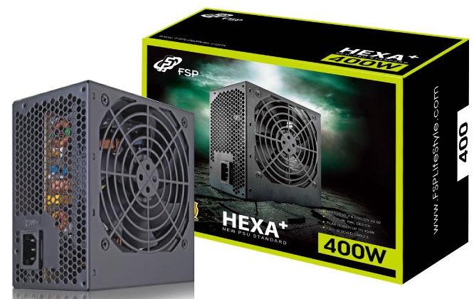 Fortron FSP ATX 2.3 HEXA Plus 400W HE-400+