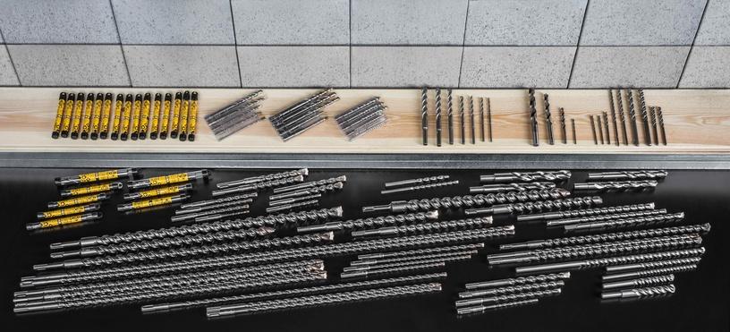 Urbju komplekts granītam Forte Tools 28264, 4-10mm, 5gab.