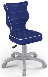 Entelo Childrens Chair Petit Size 3 Grey/Navy Blue VS06