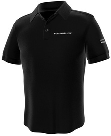 GamersWear Hardwareluxx Polo Black XL