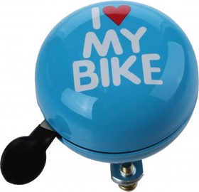 Cycletech I Love My Bike Bell Blue