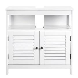 Шкаф для раковины Songmics, белый, 30x60x60 см