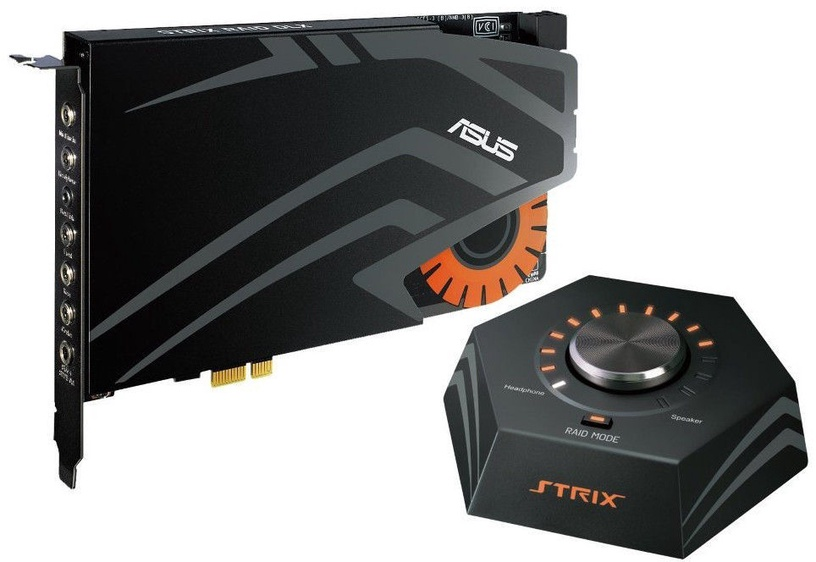 Asus STRIX DLX Gaming Sound Card 7.1 w/ WOW Game Bundle