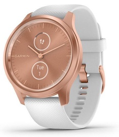 Garmin Vivomove 3 Style 42mm Silicone Rose Gold White