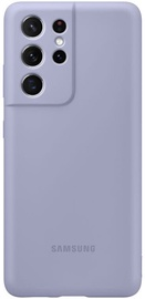 Samsung Silicone Back Case For Samsung Galaxy S21 Ultra Violet