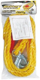 Bottari Linka Towing Rope with Safety Hooks Yellow