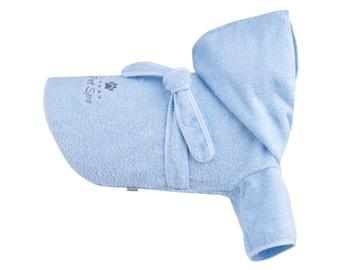 Amiplay Spa Bath Housecoat For Dog 50cm Cocker Spaniel Blue