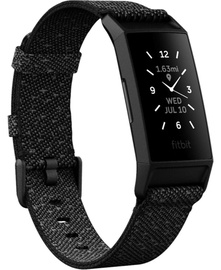Fitbit Charge 4 Special Edition Woven Black