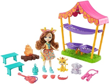 Mattel Enchantimals Savanna Sleepover Playset GTM33