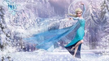 Fototapete Frozen, 2.54x1.84 m