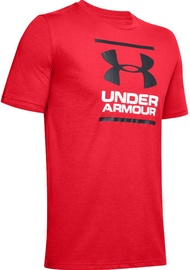 Under Armour GL Foundation T-Shirt 1326849-602 Red M