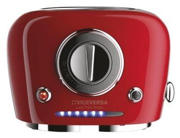 ViceVersa Tix Pop-Up Toaster Red 50033