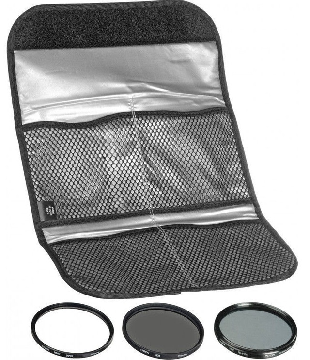 Hoya Filter Kit 2 3pcs 58mm