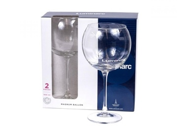 Veini klaas Luminarc Magnum Ballon, 0.65 l, 2 tk