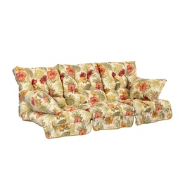 Home4you Roma Swing Cushions Flowers 3pcs