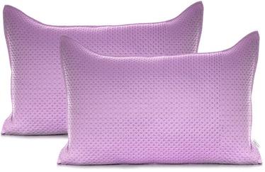 AmeliaHome Carmen Pillowcase Lilac 50x70 2pcs