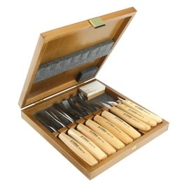 Narex PRO 8948 Wood Chisel Set 9pcs