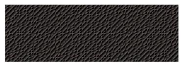 Keraminės sienų plytelės NEON JUODA NELYGI, 90 x 30 cm