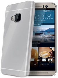 Celly Gelskin Back Cover For HTC One M9 Transparent