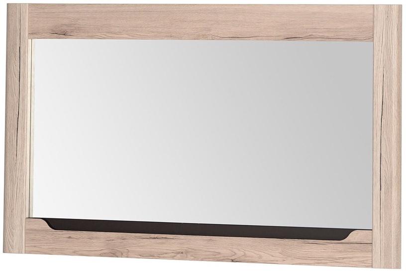 Veidrodis Szynaka Meble Desjo 30 Oak, kabinamas, 119x70 cm