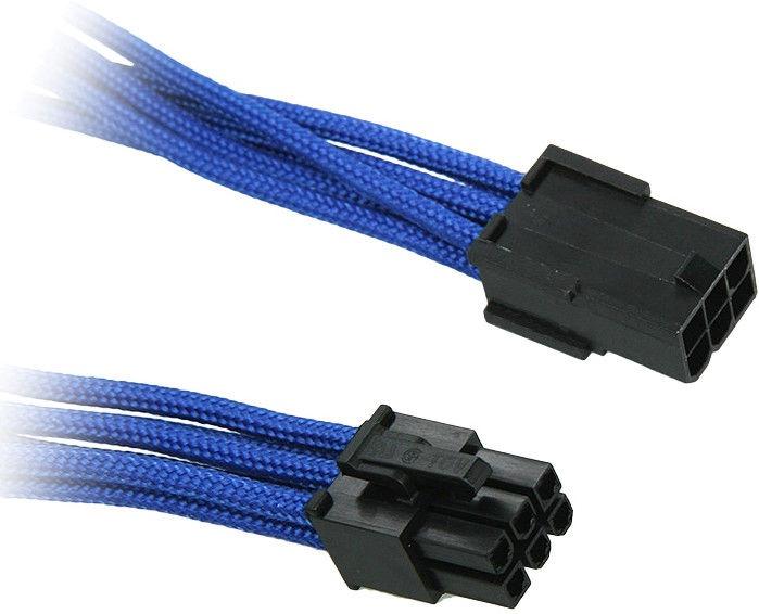 BitFenix 6-Pin PCIe Extension Cable 45cm Blue/Black