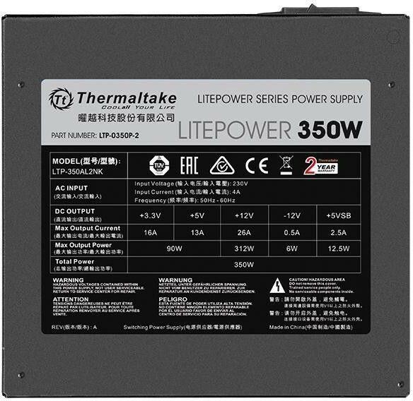 Thermaltake Litepower II 350W Black