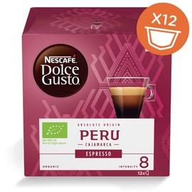 Kavos kapsulės NESCAFÉ® Dolce Gusto® Espresso Peru 12 vnt., 84 g