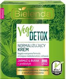Bielenda Vege Detox Normalizing Face Cream With Beetroot, Kale And Prebiotic 50ml