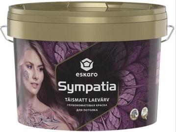 Краска для потолка ESKARO SIMPATHIA, белая 2,85 л