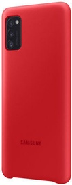 Samsung Silicone Back Case For Samsung Galaxy A41 Red