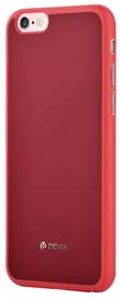 Devia Jelly Slim Back Case For Apple iPhone 6/6s Red