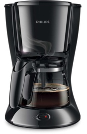 Philips Daily Collection Coffee Machine HD7461/20 Black