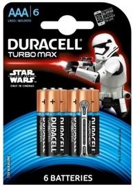 Duracell LR03 Alkaline Batteries AAA x6