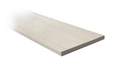Durų staktos praplatinimas Cortex, balto ąžuolo, 8 x 2024 x 100 mm, 2,5 vnt.