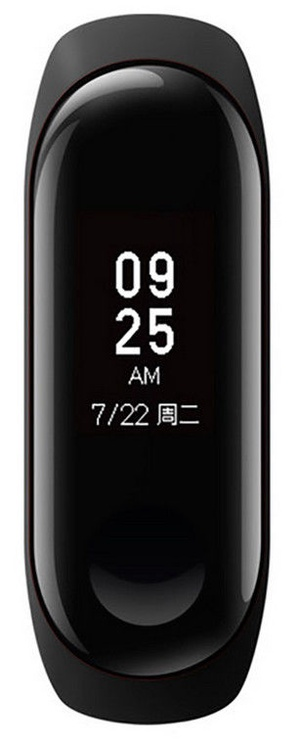 Išmanioji apyrankė Xiaomi Mi Band 3 Black