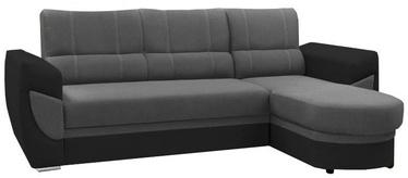 Stūra dīvāns Idzczak Meble Trendi Bahama 34/Soft 11 Gray, labais, 250 x 170 x 97 cm