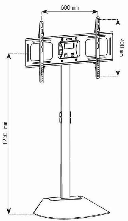 Кронштейн для телевизора Techly, 32-70″, 45 кг