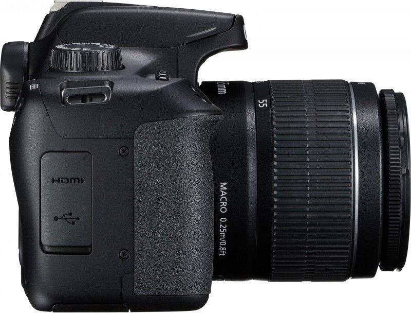 Canon EOS 4000D EF-S 18-55mm DC III + EF 75-300mm III